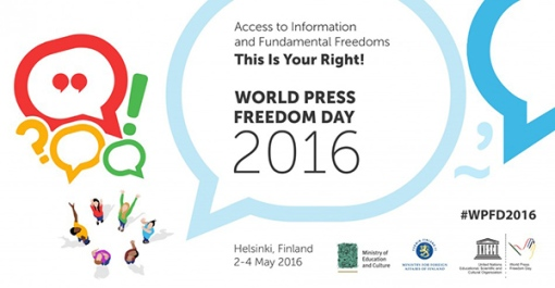 World Press Freedom Day 2016 1