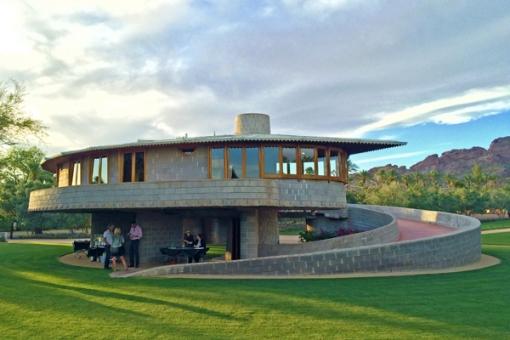 Frank Lloyd Wright's David and Gladys Wright House, Phoenix, Ariz.