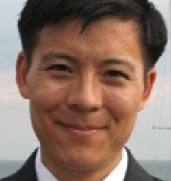 Gavel Gap co-author Professor Albert H. Yoon