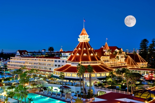 Hotel del Coronado, San Diego, site of the State Bar of Arizona CLE By the Sea.