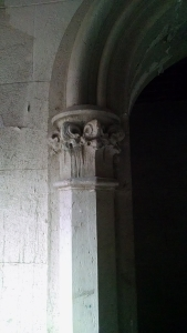 Monroe Abbey column detail