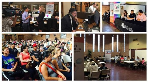 State Bar of Arizona Abogados a Su Lado Phone Bank and Community Forum, June 2016