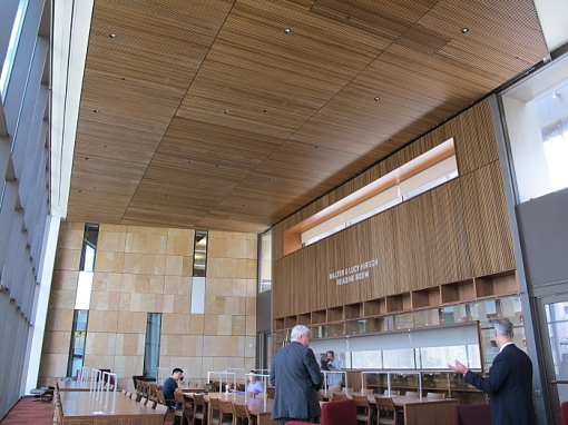 Reading room, Sandra Day O'Connor College of Law