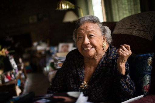 Cecilia Marshall, 88, the widow of U.S. Supreme Court Justice Thurgood Marshall, still lives in Falls Church, Va., where they moved three decades ago. (Sarah L. Voisin/The Washington Post)