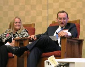 Attorneys Joe Kanefield and Kelly Schwab present at the State Bar of Arizona Convention, June 2013.
