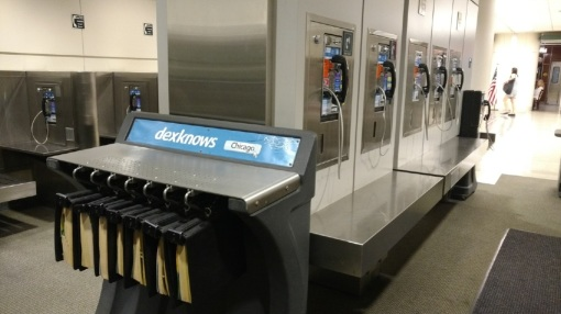 Advanced thinking is not what draws you into Midway Airport's Mausoleum of Ancient Technologies.
