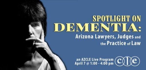 SBA program on dementia in the legal profession 04-07-17
