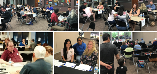 28 attorneys as well as multiple other volunteers assisted at Legal Clinics on Law Day, held in Arizona on April 29, 2017.
