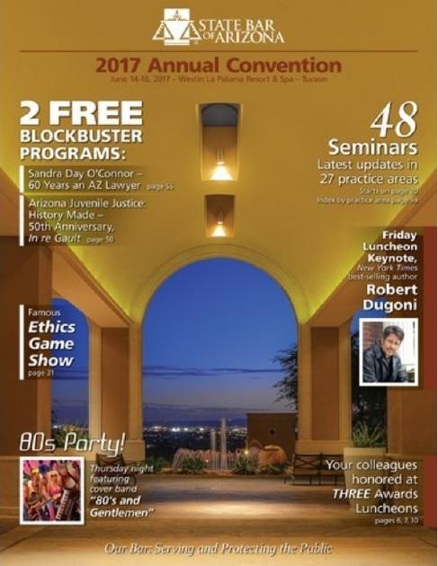 Convention magazine cover 2017