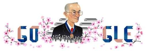 Fred Korematsu Google Doodle by artist Sophie Diao