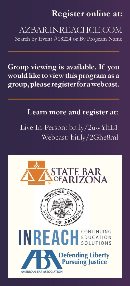 State Bar of Arizona sexual harassment seminar 05-09-18 image 3